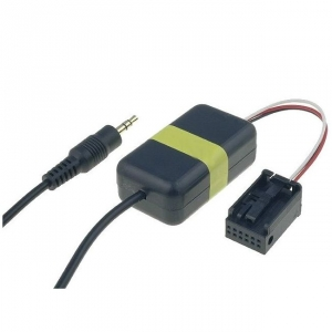 Adaptér AUX Audio BMW QUADLOCK - 3,5mm Jack / 12-PIN