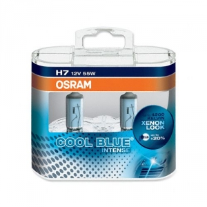 Autožárovka H7 - 55W +20% OSRAM Cool Blue Intense (2ks)