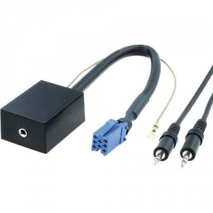 AUX adaptér audio - Audi / Seat / Škoda / VW / Ford (3,5mm Jack)