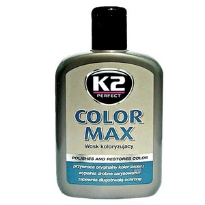 Leštěnka K2 Color Max Black - 200ml