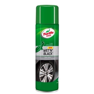 Oživovač pneumatík - v spreji Turtle wax Wet´n Black (500ml)
