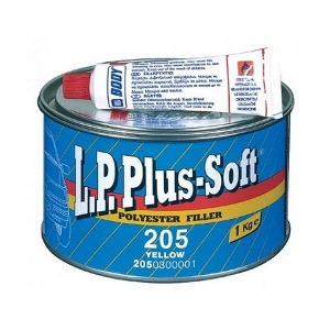 Tmel BODY L.P.PLUS - Soft 205 žltý (1kg)